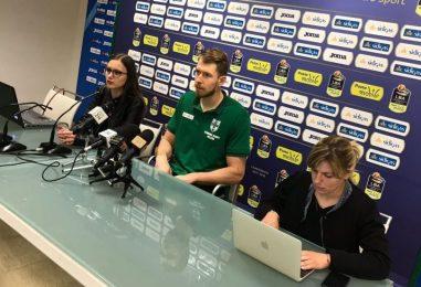 """VIDEO/ Patrik Auda pronto ai Playoff: """"La mia energia a supporto della Sidigas"""""""