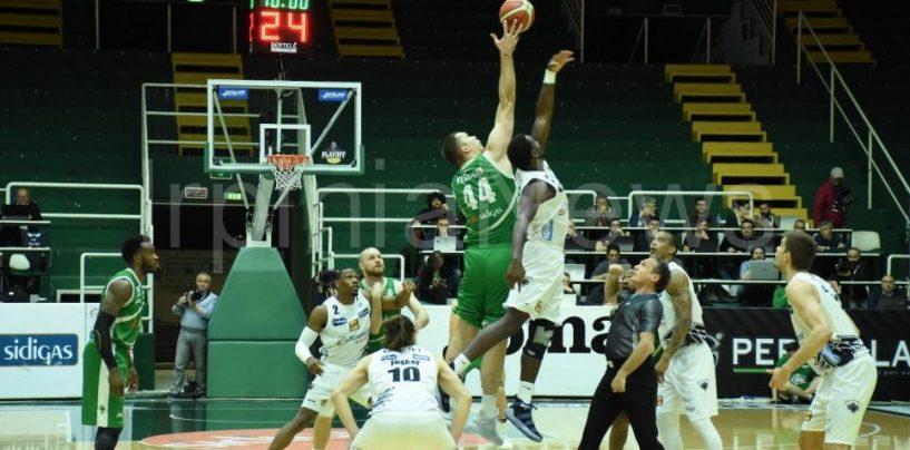 Dolomiti di nuovo in vantaggio: la Sidigas si arrende nel finale
