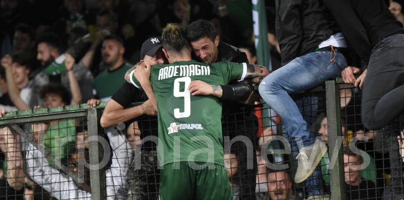 Avellino-Spezia 1-0, la fotogallery