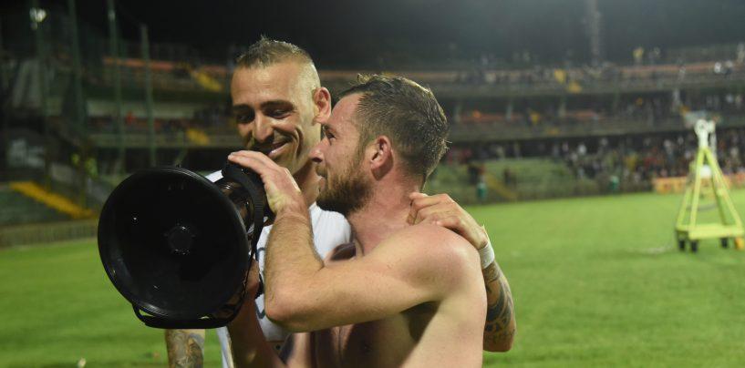 """Ternana-Avellino 1-2. D'Angelo e Castaldo in coro: """"Ora basta soffrire"""""""