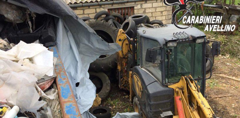 Sequestrata discarica di 1200 mc con rifiuti pericolosi e non, nei guai un 50enne a Bisaccia