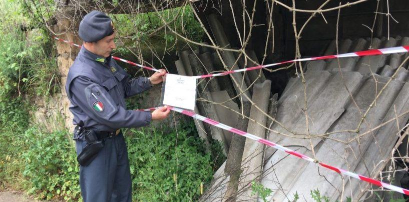 Sequestrata discarica abusiva in Irpinia: conteneva 50 tonnellate di amianto