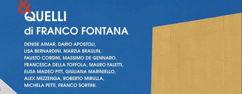 """""""Franco Fontana e Quelli di Franco Fontana"""", la mostra a Montoro"""