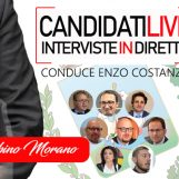 VIDEO/ Candidati Live – Enzo Costanza intervista in diretta Sabino Morano