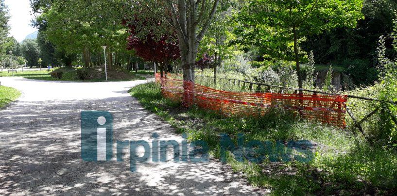 Parco Santo Spirito off limits fino a gennaio
