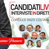 VIDEO/ Candidati Live – Enzo Costanza intervista in diretta Massimo Passaro
