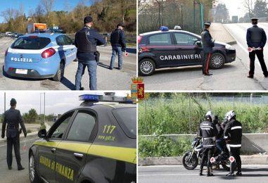 """""""Operazione Periferie"""": controlli a tappeto di Polizia, Finanza, Carabinieri e Municipale"""