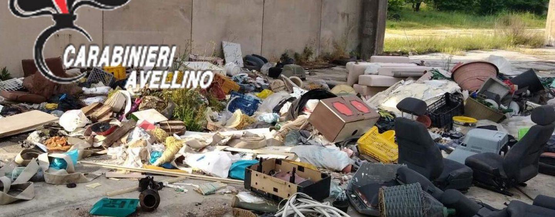 Gestione illecita di rifiuti a Cervinara: denunciato 40enne
