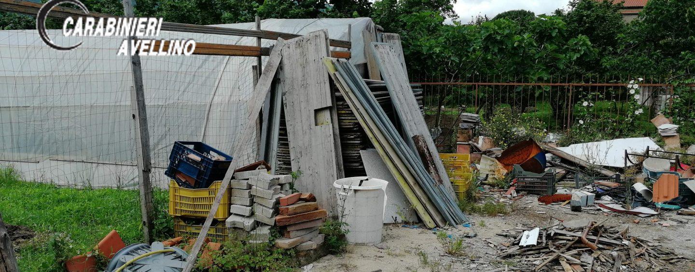 Smaltisce rifiuti pericolosi e coltiva marijuana in un terreno comunale: nei guai un 65enne