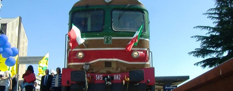 Il treno corre veloce: tutto esaurito per Irpinia Express