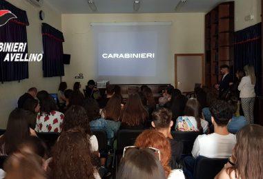 Cultura della legalità: studenti in visita al Comando dei Carabinieri