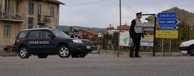 Controlli dei Carabinieri in provincia: sette denunce nel beneventano
