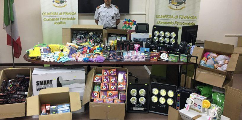 Maxi sequestro di giocattoli e prodotti elettrici pericolosi: oltre 50 mila euro di sanzione per il titolare di un negozio