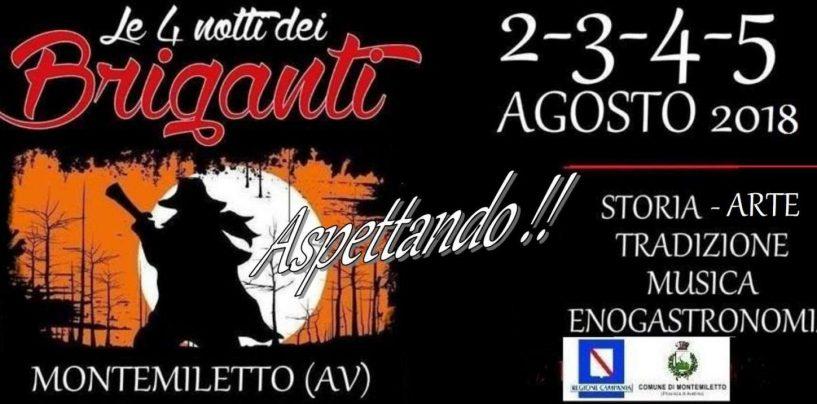 """""""Le 4 Notti dei Briganti"""", conferenza stampa rinviata all'8 luglio"""