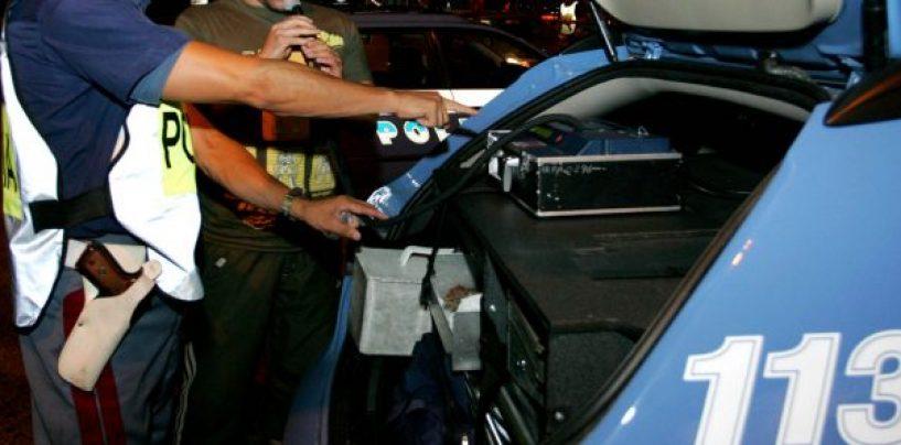 Guida in stato di ebbrezza, denunciato un 43enne
