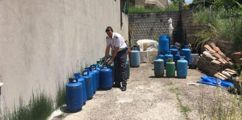 Bombole gpl detenute in maniera pericolosa: scattano sequestri e denunce