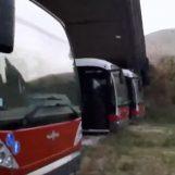VIDEO/ Metropolitana leggera: il comune paga l'assicurazione ai bus che non funzionano