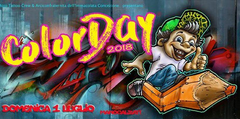 Manocalzati, tutto pronto per il ColorDay: l'evento dove i bambini diventano grandi artisti