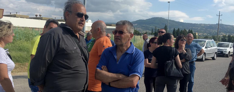 """Ex Irisbus, presidio a Flumeri: """"Piazzale fittato, vogliamo chiarezza"""""""
