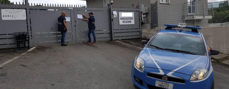 Reati ambientali, il Gip convalida il sequestro di un'area ad Atripalda