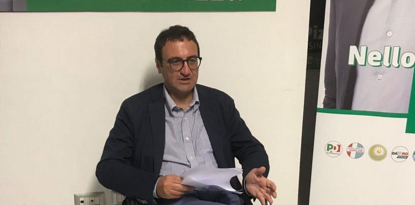 Lutto Festa, il cordoglio del candidato sindaco Nello Pizza