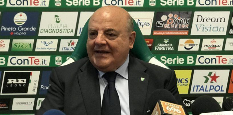 """Avellino, Taccone: """"L'allenatore dovrà adeguarsi. Pronto piano di rientro"""""""