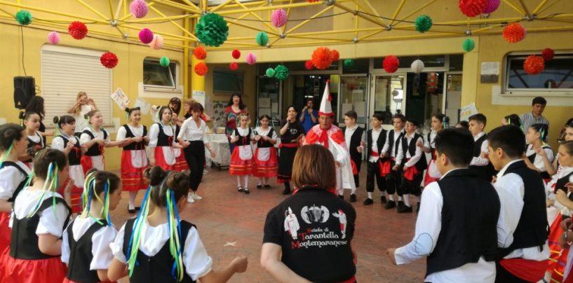 La tarantella tra i banchi di scuola con la tradizione di Montemarano