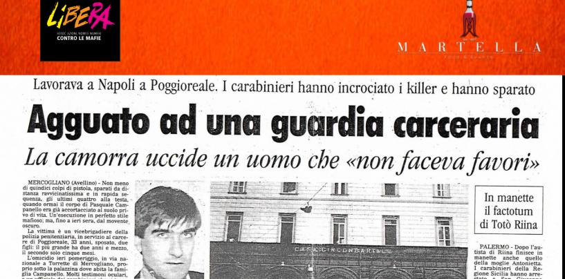 """""""Un giorno come tanti. Verità e giustizia a partire da Pasquale Campanello"""". L'iniziativa di Libera"""