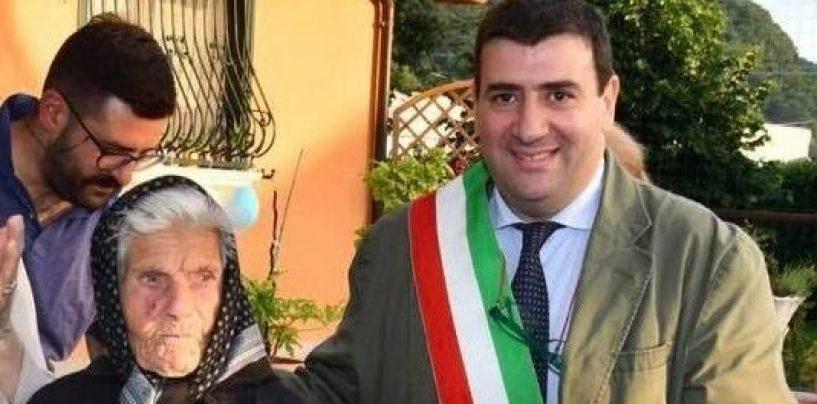Volturara, il paese degli ultracentenari: la super-nonna Maria spegne 107 candeline