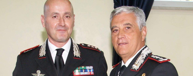 """FOTO/ Visita del Generale Tomasone al Comando dei Carabinieri di Avellino. """"Disponibilità innanzitutto: recepire le istanze dei cittadini e trovare soluzioni concrete e puntuali"""""""