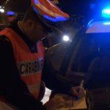 Al volante sotto effetto di alcol finisce fuori strada, denunciato 20enne