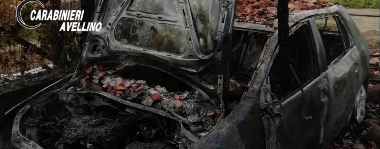 Incendiata auto in un box, denunciato 50enne di Montoro