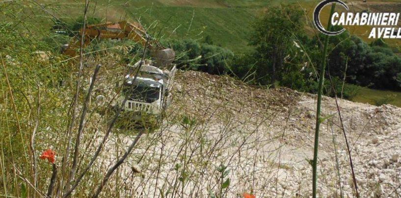 Attività di cava non autorizzata: denunciate 5 persone