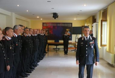 """Il nuovo comandante dei Carabinieri Stefanizzi: """"Sannio territorio sotto controllo"""""""