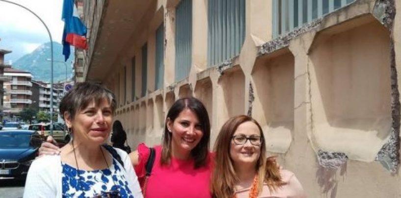 """Recupero ex """"San Giacomo"""": la deputata Pallini e le consigliere di Monteforte incontrano Percopo"""
