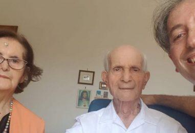 Pietrelcina in festa per i 101 anni di nonno Amelio