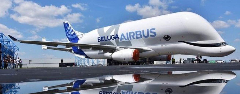 """L'Irpinia vola sulle ali del nuovo Airbus Beluga XL: parti del """"gigante"""" vengono da Lacedonia"""