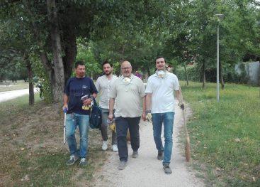 Giornata ecologica: sindaco e cittadini in campo per Parco Santo Spirito