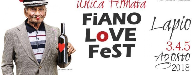 """Si alza il sipario sul """"Fiano Love Fest"""": tutti a Lapio dal 3 al 5 agosto"""