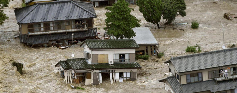 Maltempo, Giappone in ginocchio. Oltre 100 vittime