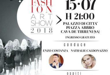 """A Cava de Tirreni il Premio """"Fashion Art Show"""": domenica 15 luglio a Piazza Abbro si accendono i riflettori"""