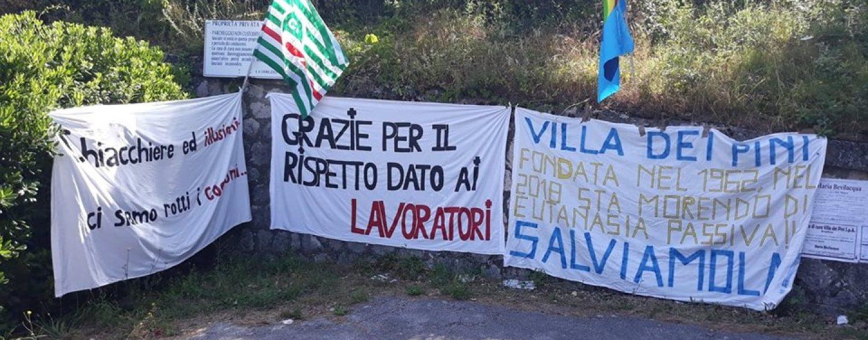 """Villa dei Pini: è sciopero. Il sindacato: """"Stop ai licenziamenti"""""""