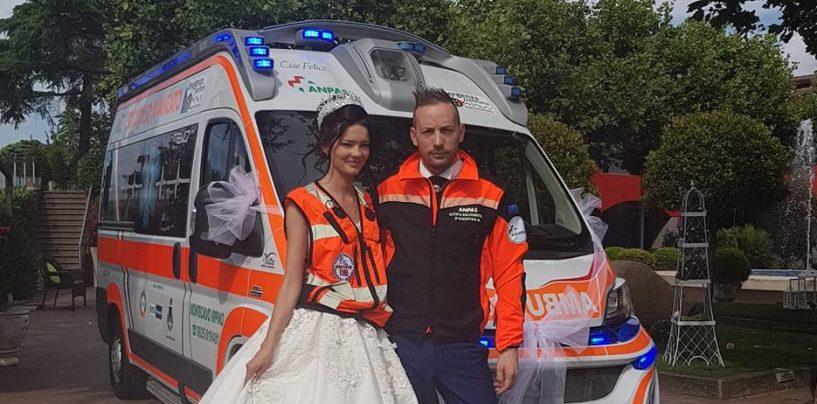 """Prima il """"Sì"""", poi la corsa in ambulanza: da Montecalvo la storia di Alessandro e Olena"""