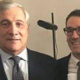 Tajani in Irpinia: Aufiero in pole position per la guida del partito