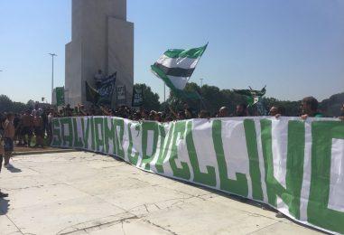 Curva Sud Avellino: corteo anti-Taccone e 'avviso' a De Cesare