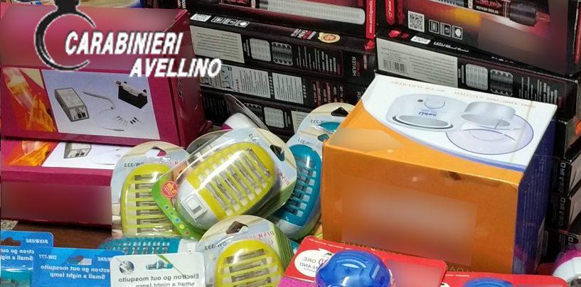 Vendeva prodotti con marchi contraffatti: denunciato commerciante asiatico