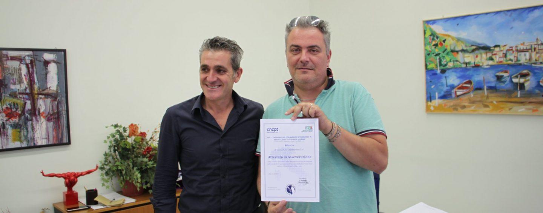 Sicurezza sul lavoro, ad un'impresa di Montoro il primo certificato di qualità rilascato in Irpinia