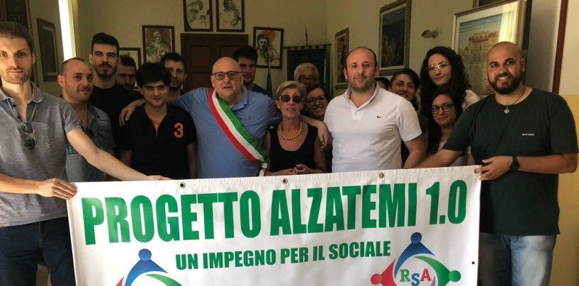 """Venti giovani per il sociale, soddisfazione al comune di Lauro per il progetto """"Alzatemi 1.0"""""""