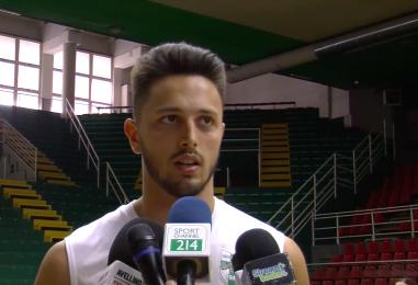 Primi guai per la Sidigas: problema muscolare per Luca Campogrande