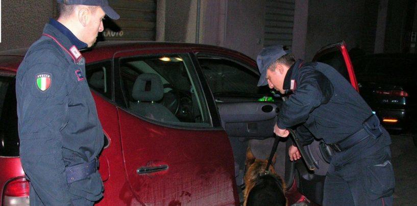 Droga, carabinieri in azione nel beneventano: sette giovani nei guai
